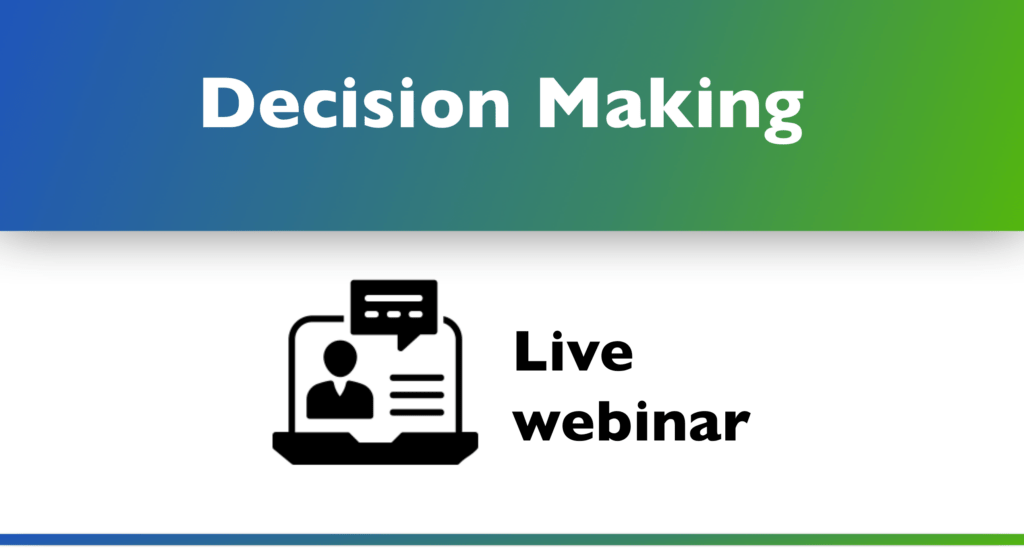 Aerunautical decision making webinar